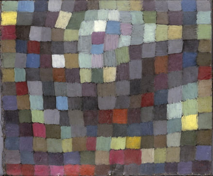 "Paul Klee, ""Maibild (May Picture)"" 1925, at MoMA. The Metropolitan Museum of Art, New York"